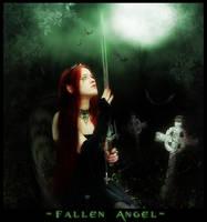 Fallen Angel by kawaiifaerie