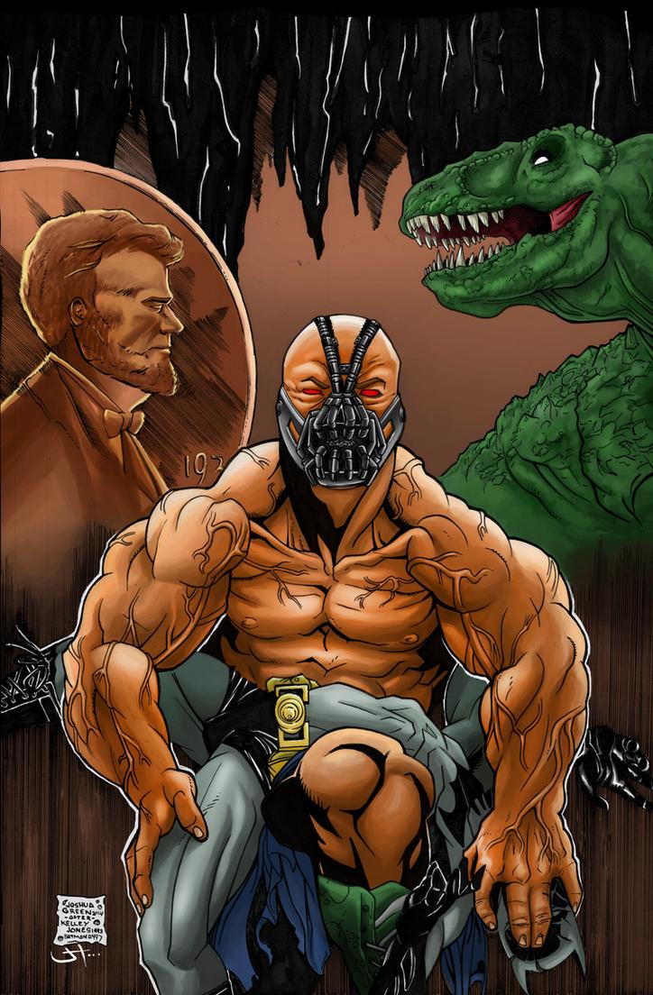 Batman #497 (Recreation) (COLORED) by LVCIFERX