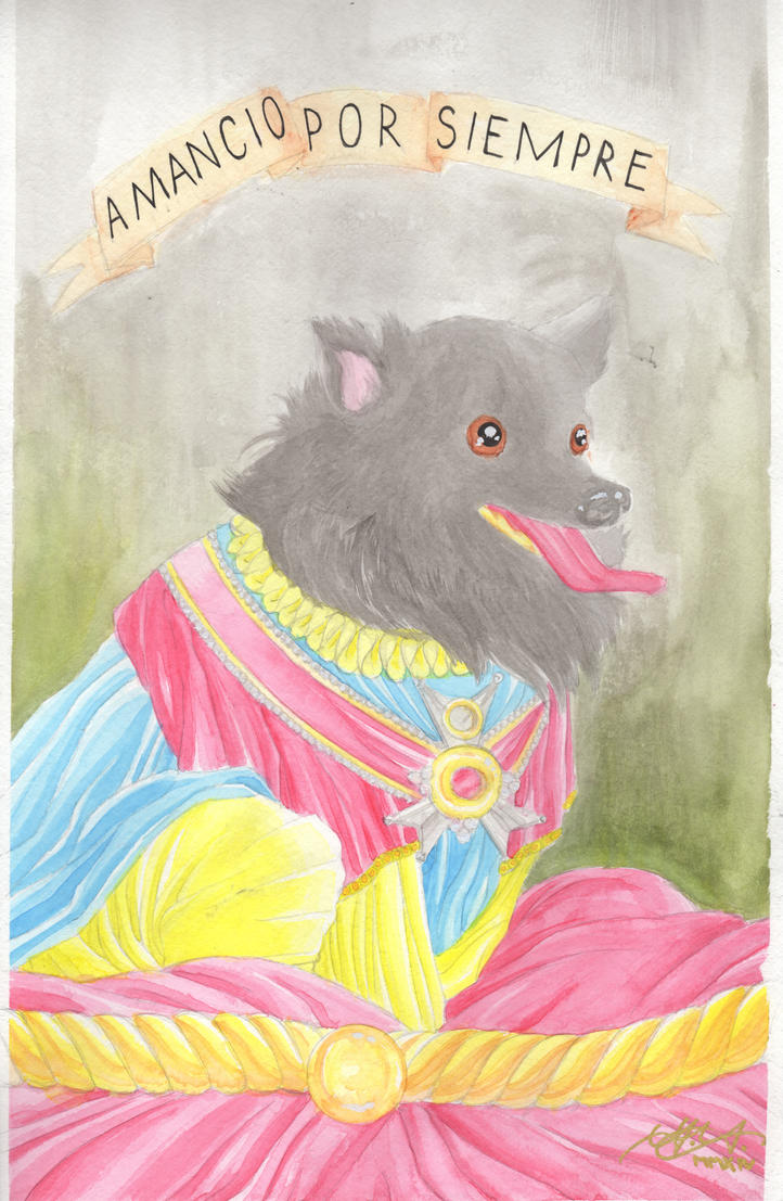 Puppy Commission by LVCIFERX