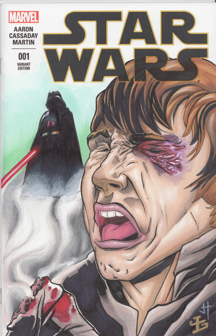 Star Wars Sketch Cover by LVCIFERX