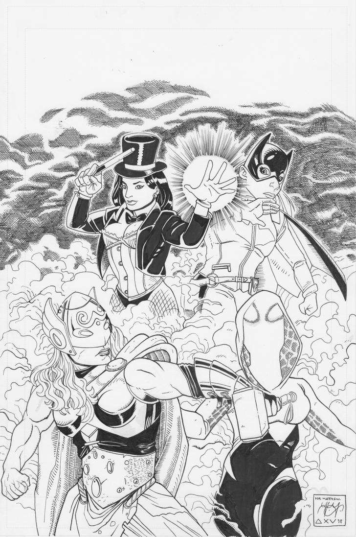 DC/Marvel by LVCIFERX