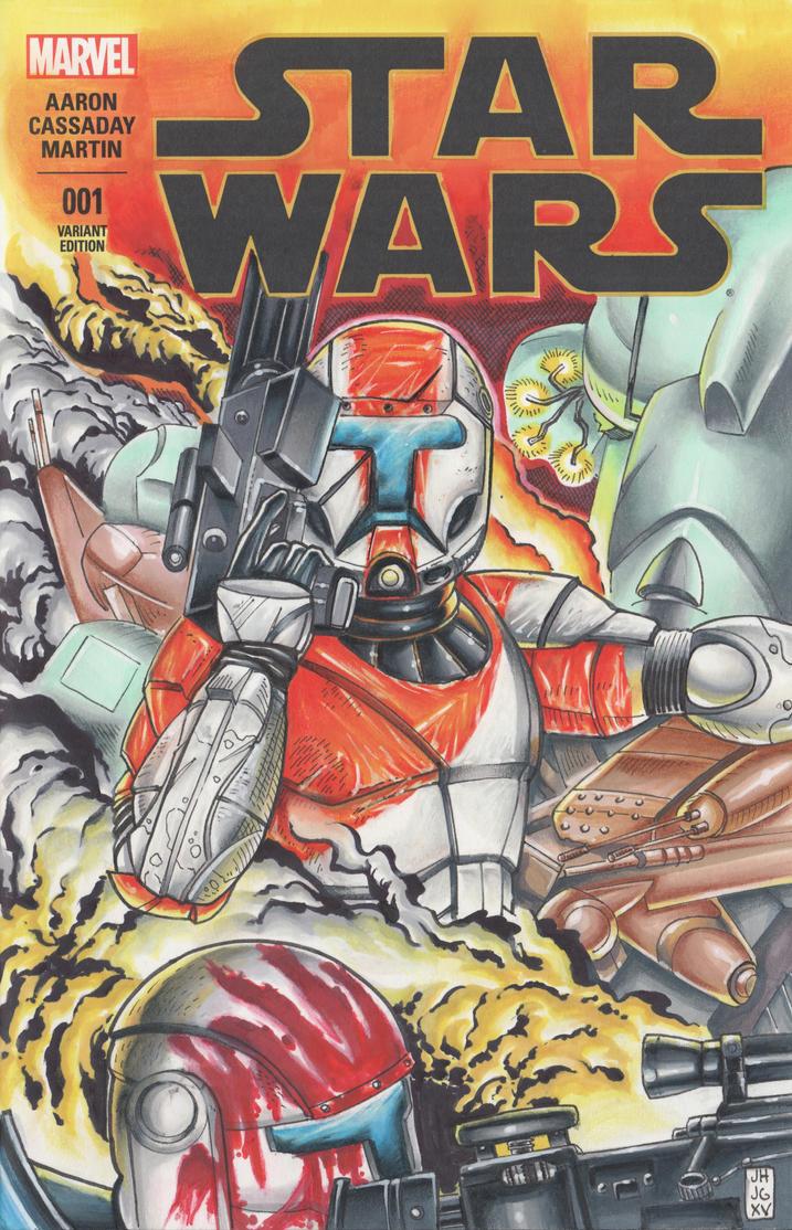 Clone Commando Cover by LVCIFERX