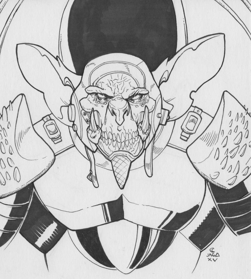 Lord Dactus by LVCIFERX