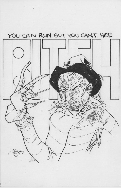 Scary Freddy by LVCIFERX