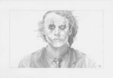 The Joker by LVCIFERX