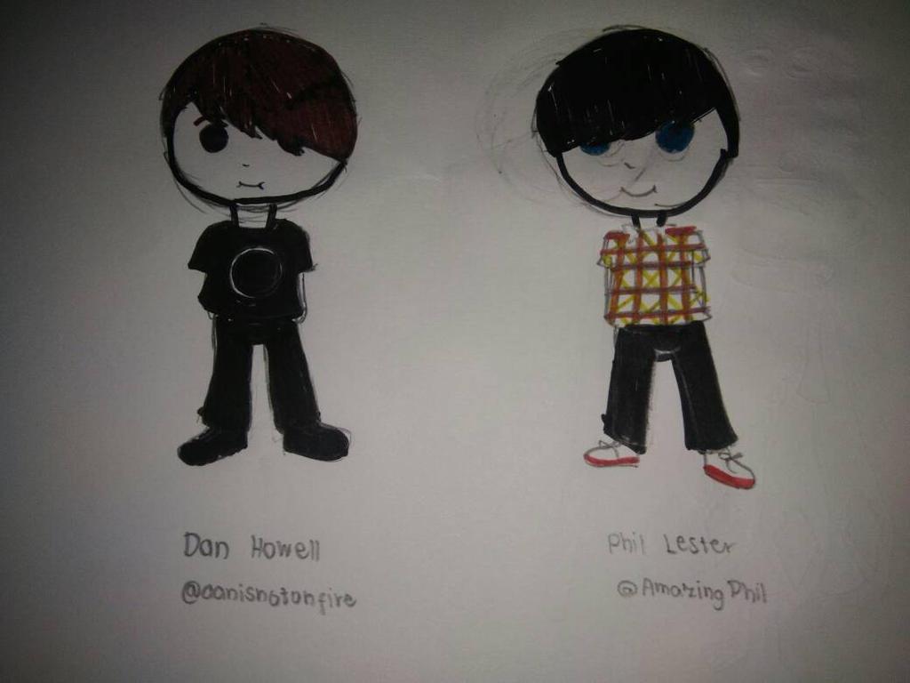 Chibi Dan and Phil by TrisandCalebPrior on DeviantArt