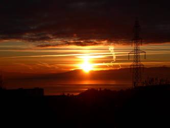Sunset Strata by Defelozedd94