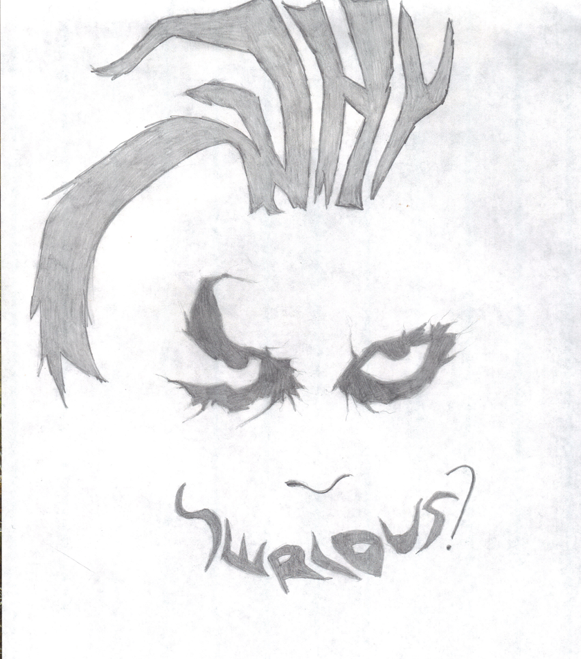 why so serious by twian on deviantart