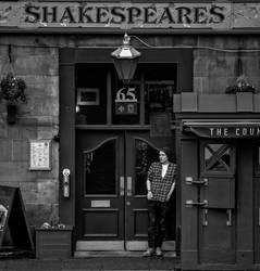 Shakespeare, Edinburgh by MikeHeard