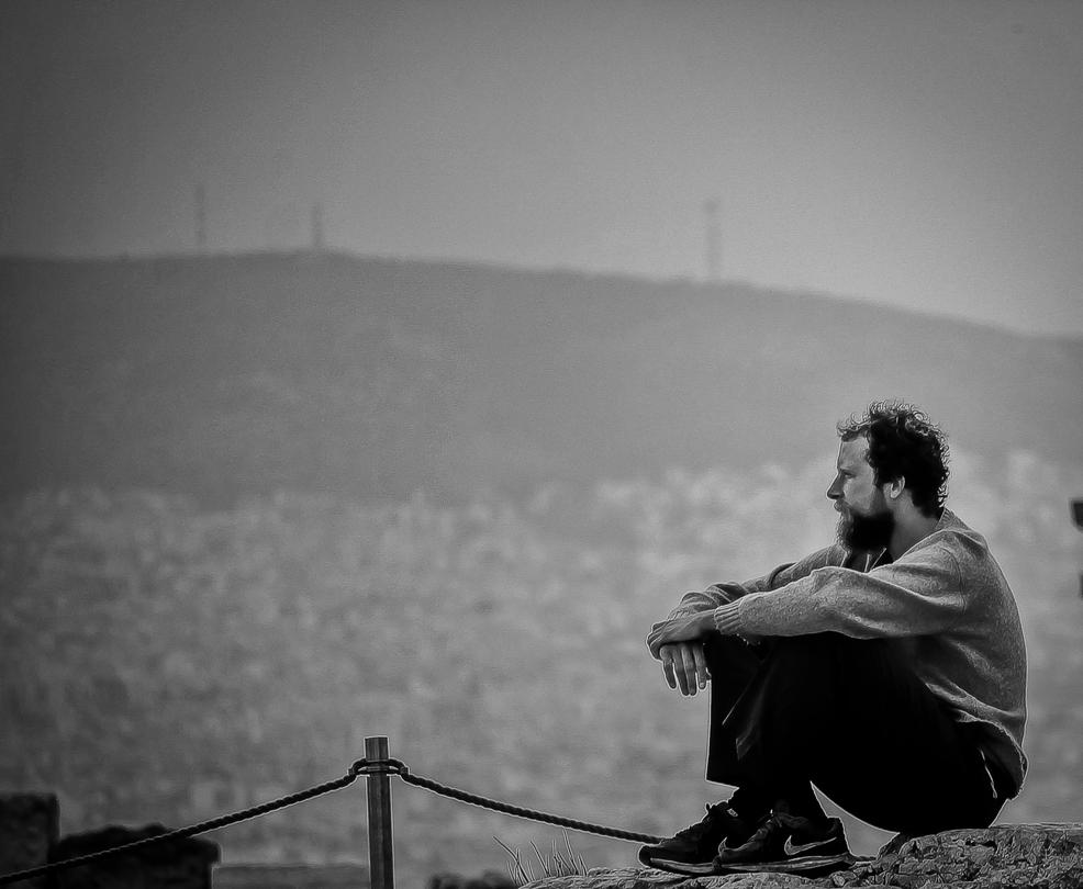 Contemplating Athens by MikeHeard