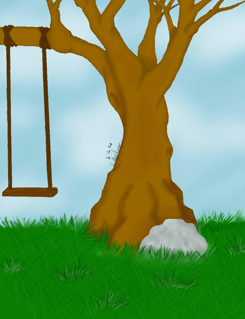 Tree Swing by Eisielae