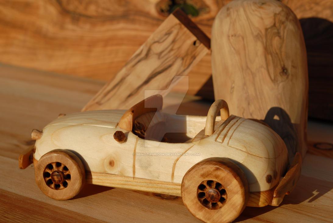 Wood Car Art : Wooden car by minotaurosk on deviantart