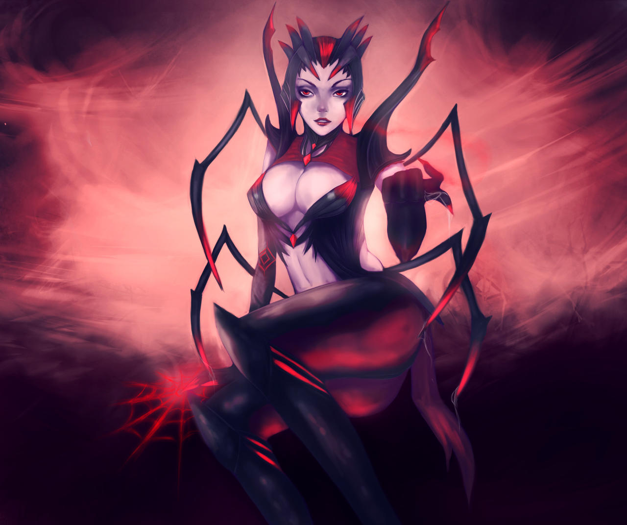 ::LoL:: Elise by Neiths