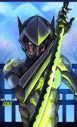 :Overwatch: Genji Shimada by Neiths