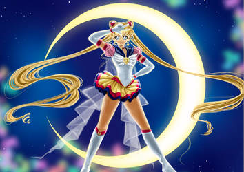 Magic_Sailor Moon by Pillara