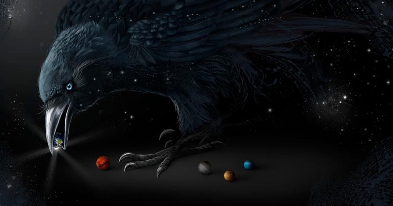 Raven by Pillara