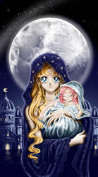 Holy moon by Pillara