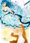 Always gentle Haruka and Michiru
