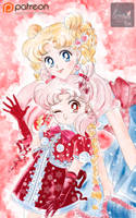 New year girls_manga style by Pillara