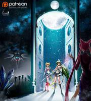The battle for earth_Sailor Moon by Pillara