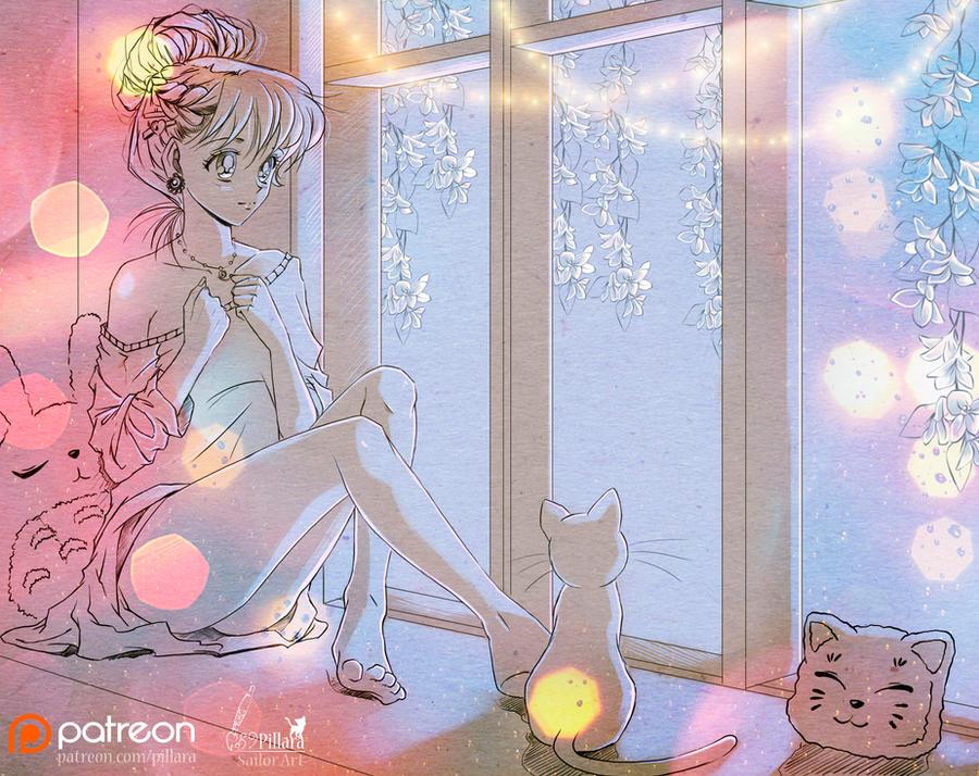 Dreams Minako_Sailor Moon by Pillara