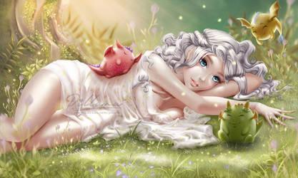 Daenerys Targaryen art by Pillara