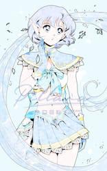 Sailor Mercury_elf_fanart_sailorMoon by Pillara