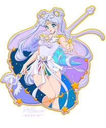 PIN design Sailor Cosmos