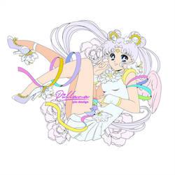 Sailor Cosmos pin design_Commission
