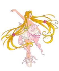 Moon Ballerina_ pin design_commission