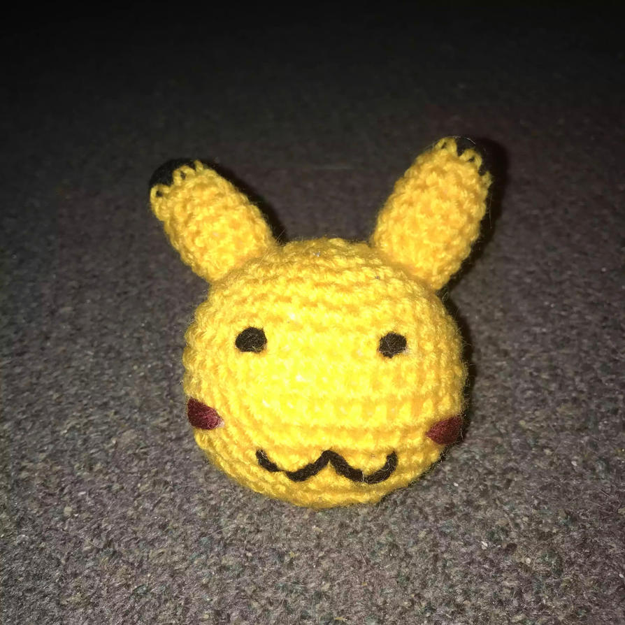 Pikachu ball by Borntobedevilcute