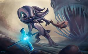 Fizz | League of Legends by Kontayjin