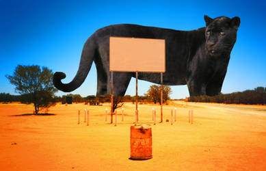 Giant panther by danielhbrito