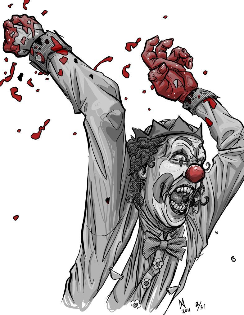 Killer Clown by quasilucid