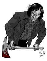 Jack Torrance by quasilucid