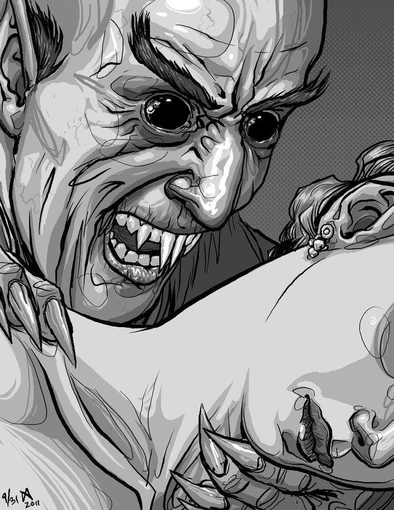 Nosferatu by quasilucid