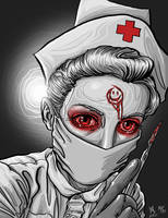 Psycho Nurse by quasilucid