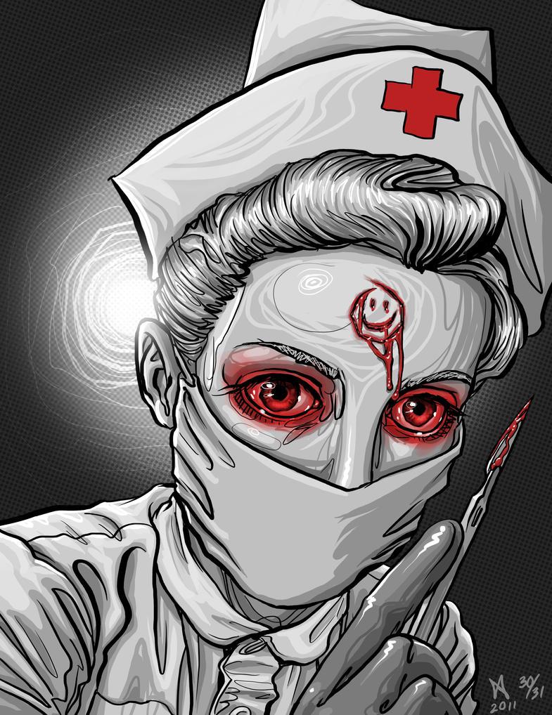 Psycho Nurse by quasilucid on DeviantArt