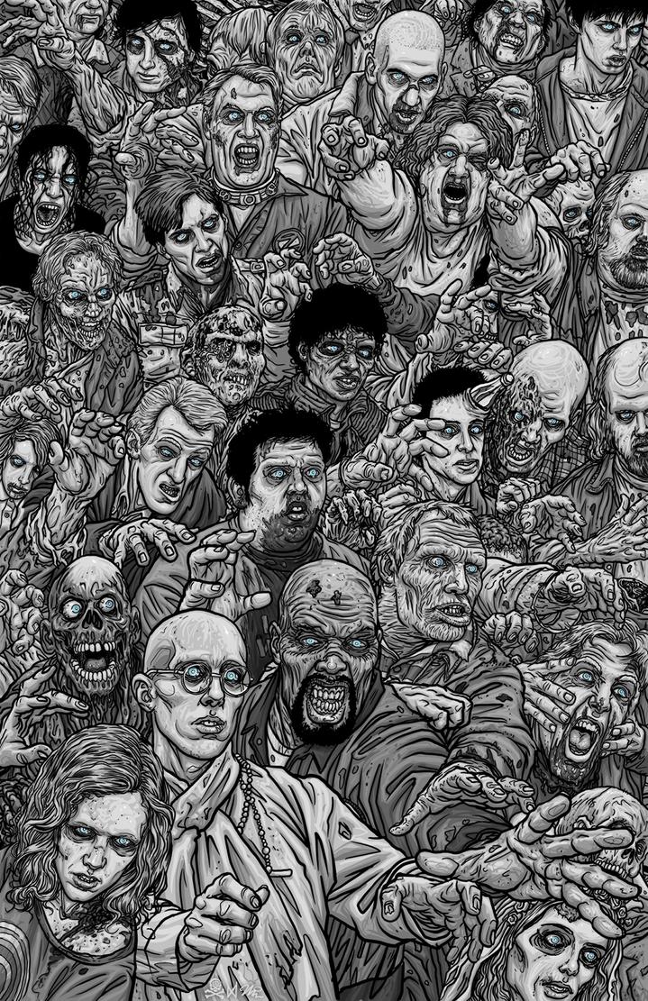 Zombie Mash-up by quasilucid