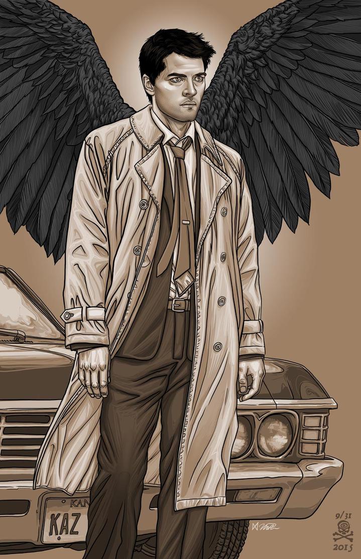 Castiel: Supernatural by quasilucid