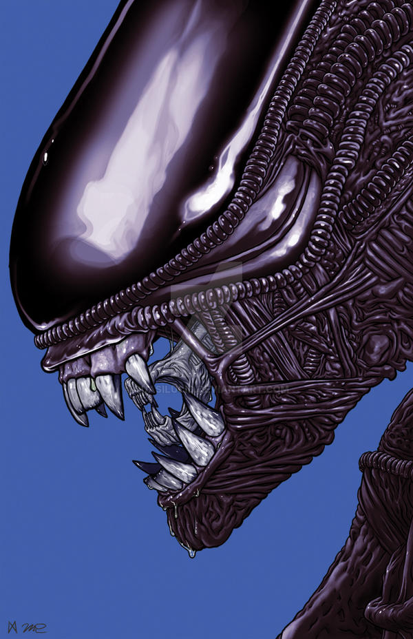 Xenomorph Alien Movie Art