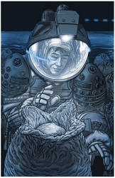 Alien - xenomorph eggs - movie art