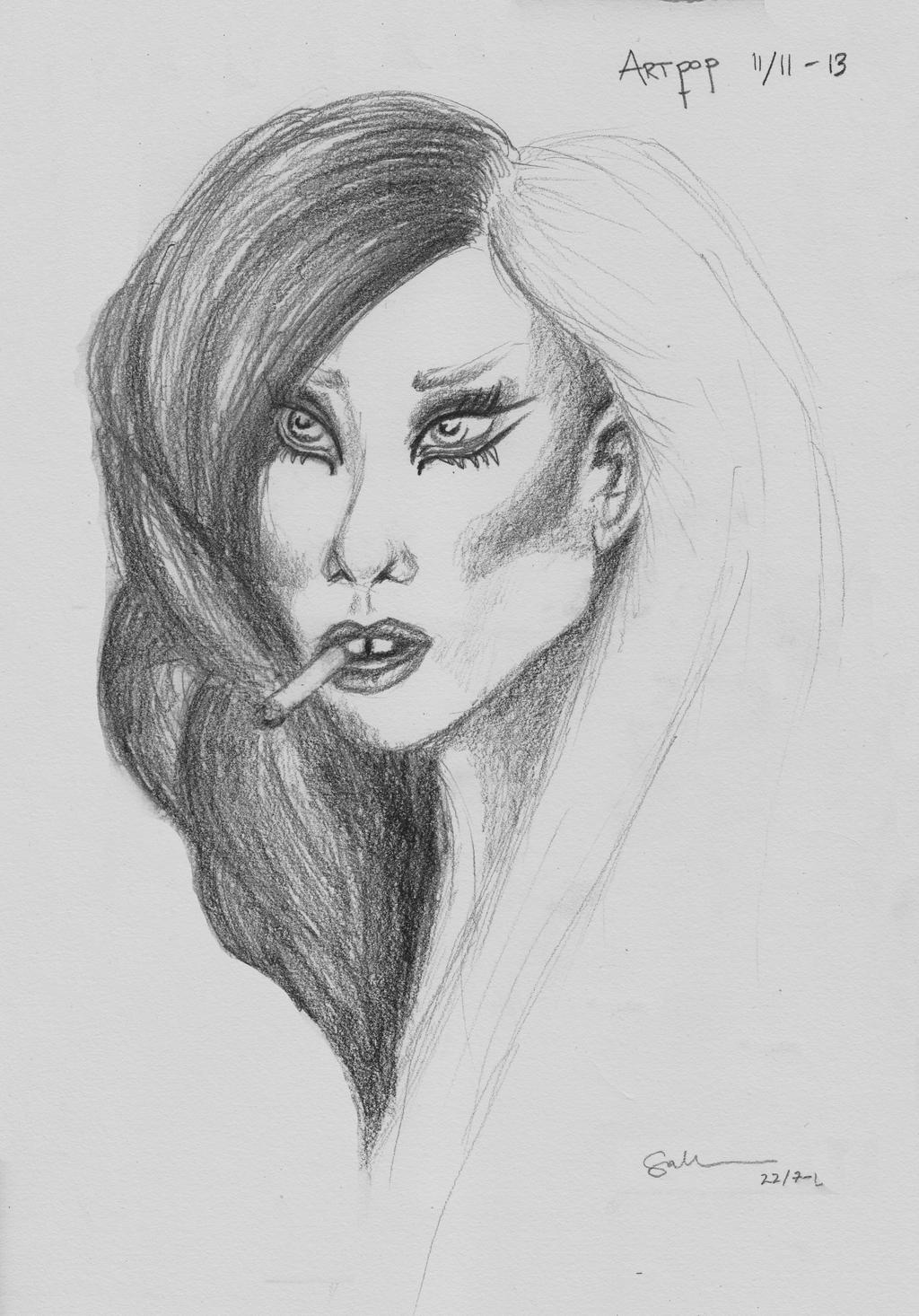 Lady Gaga - ArtPop by Salooverall on deviantART