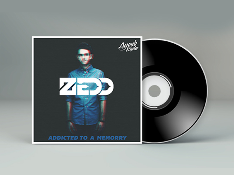 Zedd Mixtape CD Cover Free PSD fILE + Tutorial by kadayoub