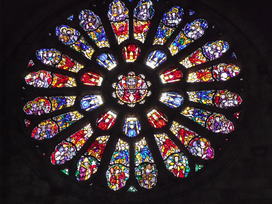 The Stained Glass Window By Geistis