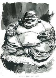 Not so laughing Buddha