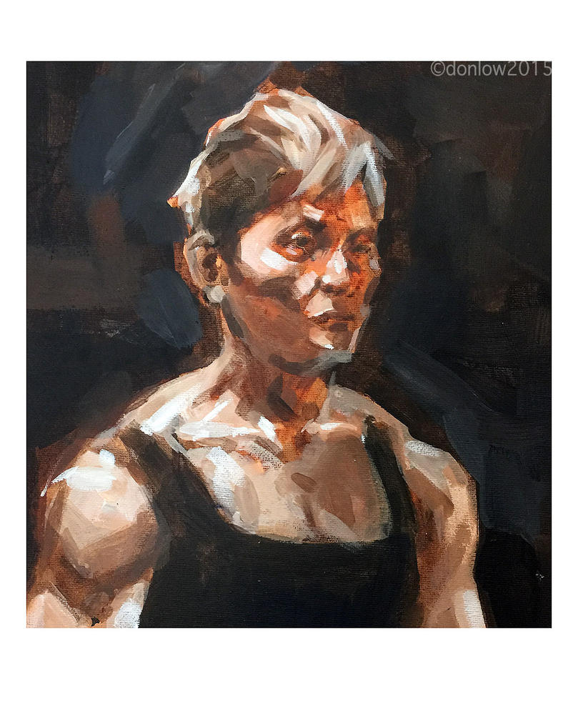 Portrait Quick Study by southercomfort
