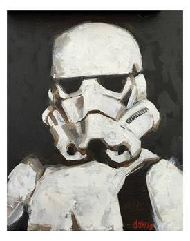 Storm-trooper Portrait (Fan Art)