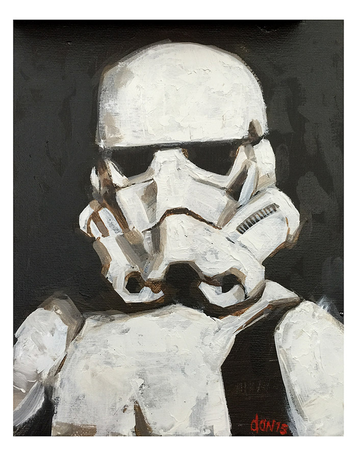 Storm-trooper Portrait (Fan Art) by southercomfort
