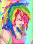 Scruffy Fluffy Rainbow Love by TheLastHuzzah